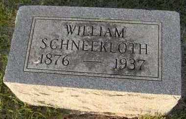 SCHNEEKLOTH, WILLIAM - Jackson County, Iowa | WILLIAM SCHNEEKLOTH