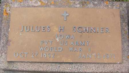 SCHNIER, JULUES - Jackson County, Iowa | JULUES SCHNIER