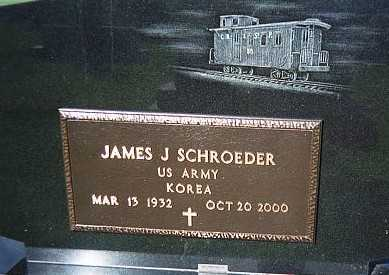 SCHROEDER, JAMES J. - Jackson County, Iowa | JAMES J. SCHROEDER