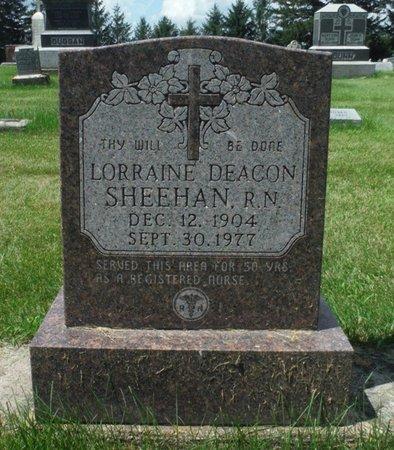 DEACON SHEEHAN, LORRAINE - Jackson County, Iowa | LORRAINE DEACON SHEEHAN