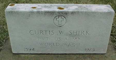 SHIRK, CURTIS W. - Jackson County, Iowa | CURTIS W. SHIRK