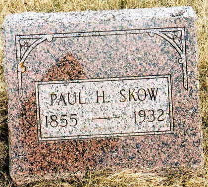 SKOW, PAUL H. - Jackson County, Iowa | PAUL H. SKOW