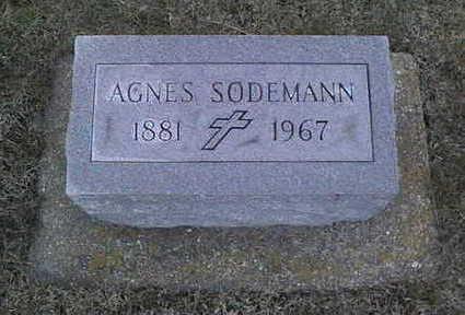SODEMANN, AGNES - Jackson County, Iowa | AGNES SODEMANN