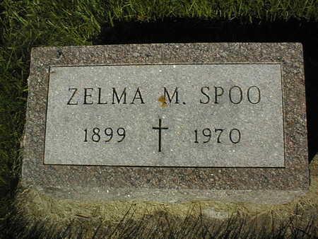 SPOO, ZELMA M. - Jackson County, Iowa | ZELMA M. SPOO