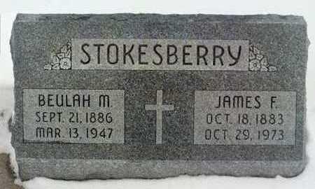 STOKESBERRY, BEULAH M. - Jackson County, Iowa | BEULAH M. STOKESBERRY