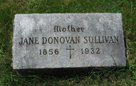 DONOVAN SULLIVAN, JANE - Jackson County, Iowa | JANE DONOVAN SULLIVAN