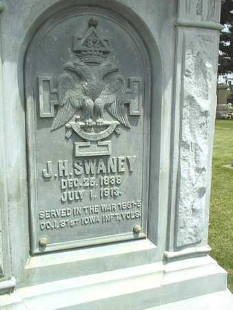 SWANEY, J.H. - Jackson County, Iowa   J.H. SWANEY