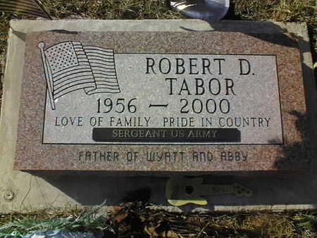 TABOR, ROBERT D. - Jackson County, Iowa | ROBERT D. TABOR