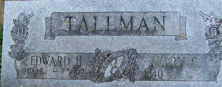 TALLMAN, EDWARD H. - Jackson County, Iowa | EDWARD H. TALLMAN