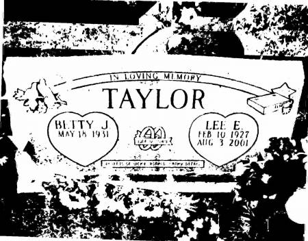 TAYLOR, BETTY - Jackson County, Iowa | BETTY TAYLOR