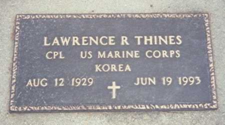 THINES, LAWRENCE R. - Jackson County, Iowa | LAWRENCE R. THINES