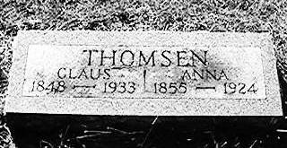 THOMSEN, ANNA - Jackson County, Iowa | ANNA THOMSEN