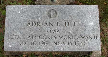 TILL, ADRIAN L. - Jackson County, Iowa | ADRIAN L. TILL