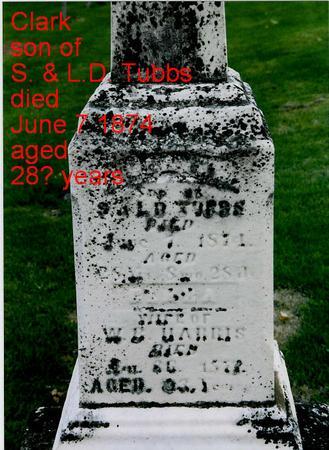 TUBBS, CLARK - Jackson County, Iowa | CLARK TUBBS