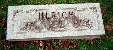 ULRICH, MARY - Jackson County, Iowa | MARY ULRICH
