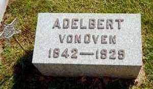 VON OVEN, ADELBERT - Jackson County, Iowa | ADELBERT VON OVEN
