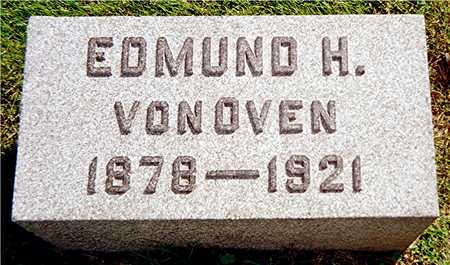 VON OVEN, EDMUND H. - Jackson County, Iowa   EDMUND H. VON OVEN