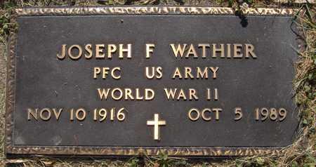 WATHIER, JOSEPH F. - Jackson County, Iowa | JOSEPH F. WATHIER