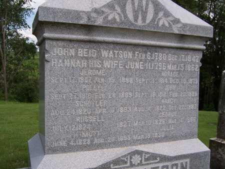 WATSON, HANNAH - Jackson County, Iowa | HANNAH WATSON