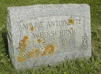 WEINSCHENK, MARIE ANTOINETTE - Jackson County, Iowa | MARIE ANTOINETTE WEINSCHENK