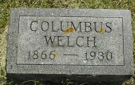 WELCH, COLUMBUS - Jackson County, Iowa | COLUMBUS WELCH