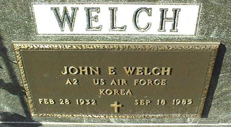 WELCH, JOHN E. - Jackson County, Iowa | JOHN E. WELCH