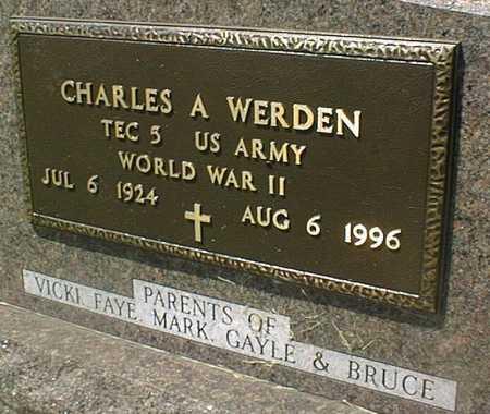 WERDEN, CHARLES A. - Jackson County, Iowa | CHARLES A. WERDEN