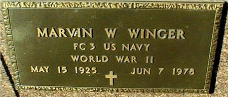 WINGER, MARVIN - Jackson County, Iowa | MARVIN WINGER