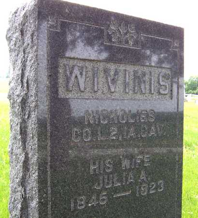 WIVINIS, JULIA - Jackson County, Iowa | JULIA WIVINIS