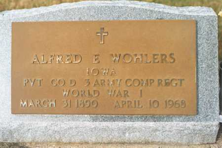 WOHLERS, ALFRED E. - Jackson County, Iowa | ALFRED E. WOHLERS