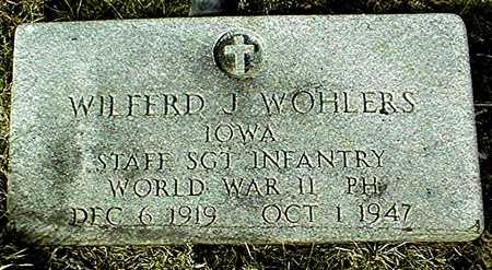 WOHLERS, WILFERD J. - Jackson County, Iowa | WILFERD J. WOHLERS