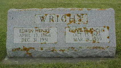 WRIGHT, EDWIN HENRY - Jackson County, Iowa | EDWIN HENRY WRIGHT