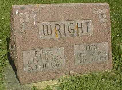 WRIGHT, ETHEL - Jackson County, Iowa | ETHEL WRIGHT
