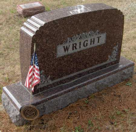 WRIGHT, FAMILY MONUMENT - Jackson County, Iowa | FAMILY MONUMENT WRIGHT