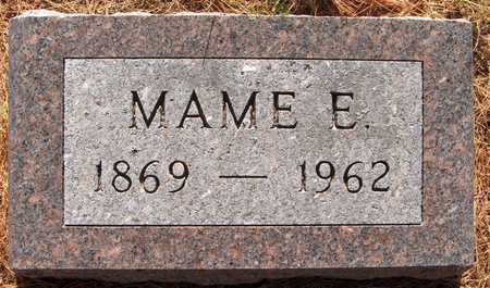 WRIGHT, MAME E. - Jackson County, Iowa | MAME E. WRIGHT