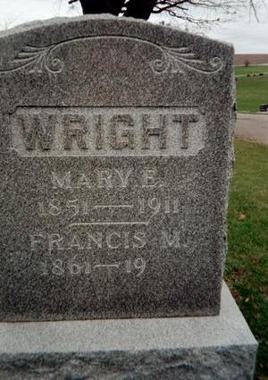 WRIGHT, MARY E. - Jackson County, Iowa | MARY E. WRIGHT