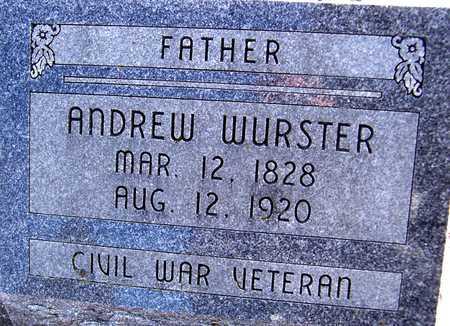 WURSTER, ANDREW - Jackson County, Iowa | ANDREW WURSTER