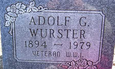 WURSTER, ADOLF G. - Jackson County, Iowa | ADOLF G. WURSTER