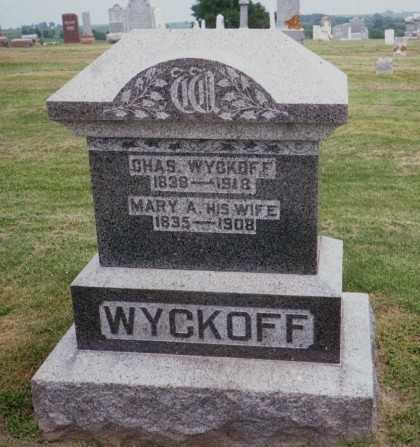 WYCKOFF, MARY A. - Jackson County, Iowa | MARY A. WYCKOFF