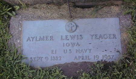 YEAGER, AYLMER LEWIS - Jackson County, Iowa | AYLMER LEWIS YEAGER
