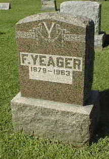 YEAGER, F. - Jackson County, Iowa | F. YEAGER