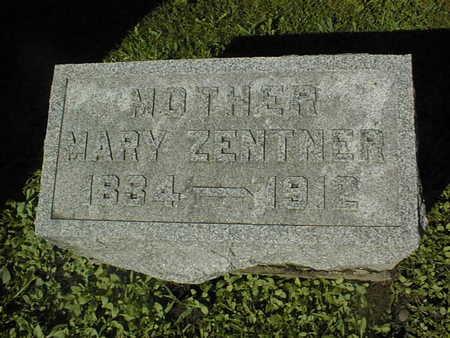 ZENTNER, MARY - Jackson County, Iowa | MARY ZENTNER
