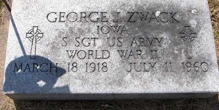 ZWACK, GEORGE J. - Jackson County, Iowa | GEORGE J. ZWACK