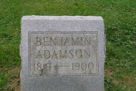 ADAMSON, BENJAMIN - Jasper County, Iowa | BENJAMIN ADAMSON