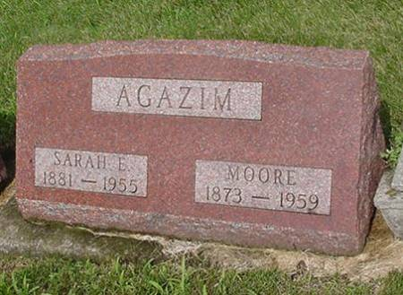 AGAZIM, SARAH E. AND MOORE - Jasper County, Iowa | SARAH E. AND MOORE AGAZIM