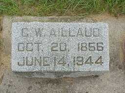 AILLAUD, CHARLES WILLIAM - Jasper County, Iowa | CHARLES WILLIAM AILLAUD