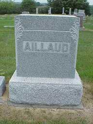 AILLAUD, WILLIAM - Jasper County, Iowa | WILLIAM AILLAUD
