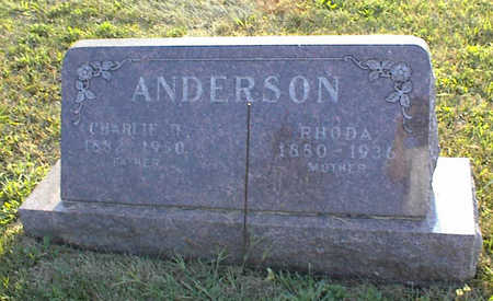 ANDERSON, CHARLES H. - Jasper County, Iowa | CHARLES H. ANDERSON