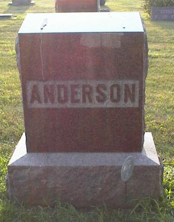 ANDERSON, FRANKLIN - Jasper County, Iowa | FRANKLIN ANDERSON