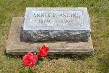 ASHING, ANNA M. - Jasper County, Iowa | ANNA M. ASHING
